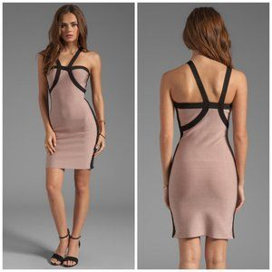 NEW Stretta Kesha Asymmetrical Bodycon Dress AV